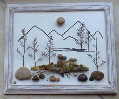 Top Driftwood Art Choices Driftwood is extremely light when it is wholly dried out. In conclusion, it serves the best form of decoration. Employing driftwood for decoration is the ideal idea as it is not only a type of beautification… Continue Reading → Stone Crafts, Rock Crafts, Arts And Crafts, Art Crafts, Art Pierre, Pebble Art Family, Art Diy, Pebble Pictures, Sea Glass Art