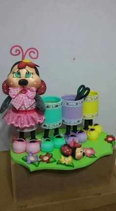 Tin Can Crafts, Foam Crafts, Preschool Crafts, Easy Crafts, Diy And Crafts, Crafts For Kids, Arts And Crafts, Recycle Cans, Recycling