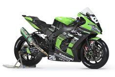 2016 All Japanese Racing Superbike Kawasaki ZX-10R Team Green