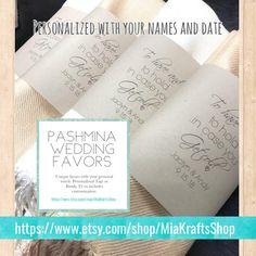 1 Pashmina Handmade - - Any color - Pashminas Bridesmaids - Bridesmaid Favor - Pashmina Wedding Favors - Shawl scarf Bridesmaid Favors, Etsy Bridesmaid Gifts, Bridesmaid Proposal Box, Bridesmaids, Unique Wedding Favors, Handmade Wedding, Wedding Ideas, Bridal Gifts, Wedding Gifts
