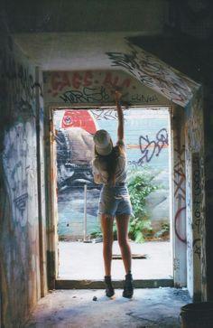 Graffiti is an art.