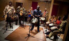 M'Bemba Bangoura Djembe Fola....Guinea W/Africa & Guests..