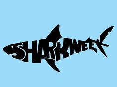 """Shark Week"" Typography - Layout Teks - Dhanendra Prathama - Kelas 1 Kelompok 2"