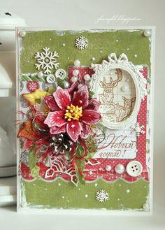 My Hobby: Страничка и 2 новогодние открытки :)