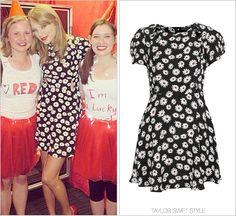 TopShop 'Daisy Print Dress' - $2.03 (USD) (eBay, size 8)