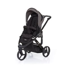 ABC DESIGN Kinderwagen Cobra plus black-cloud, frame black / zitting black pinkorblue.nl ♥ Ruim 40.000 producten online ♥ Nu eenvoudig online shoppen!