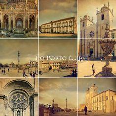 o Porto é... a sé catedral
