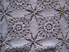 Ravelry: Cathedral Windows Tablecloth pattern by Cecilia Vanek