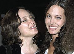 Angelina Jolie and her mother Marcheline Bertrand