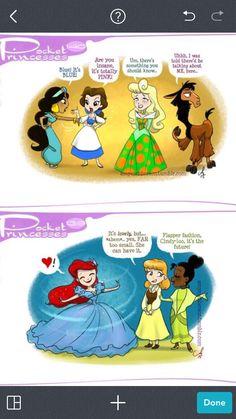 Disney Pixar, Disney Facts, Disney And Dreamworks, Disney Love, Disney Magic, Disney Stuff, Pocket Princesses, Pocket Princess Comics, Disney Princesses