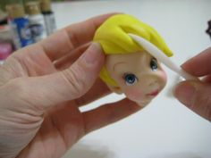 Tinkerbell (can make from fondant with same tutorial)