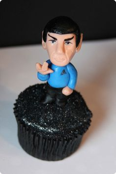 Spock Cupcake    This is the most glorious thing i've ever seen...I need it...
