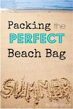 Packing the Perfect Beach Bag