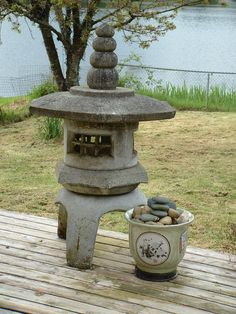 Fair Hero: The Japanese Stone Lantern ~ Light in the Garden