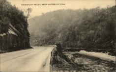 Waterbury CT Naugatuck Valley Postcard