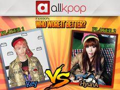 Who Wore it Better: Key vs. HyunA