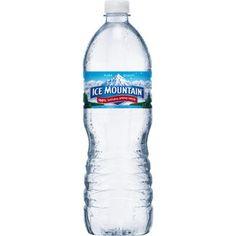 Ice Mountain Spring Water, 1 Liter, 15 ct