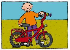 Afbeeldingsresultaat voor Jules op de fiets