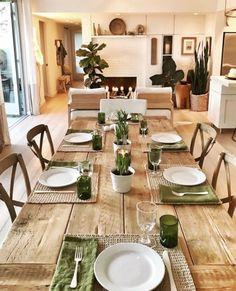 Stunning Spring Dining Room Decoration Ideas 31