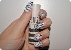 Topshop Make-up inspired nails