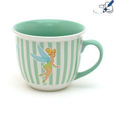 DISNEY Mug à rayures Fée Clochette