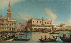 Chilone, Vincenzo (1758-1839) Title: View of Saint Mark's Basin