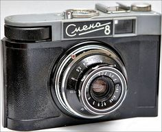 """""""Smena-8 is a viewfinder 35mm film camera made by GOMZ, LOOMP and LOMO and produced between 1963-71. Doubtless one of the most popular Smena cameras. Smena-8 was the camera USSR tried to enter the international market. There are 7 types and 3 sub-types of the Smena-35. The export types were named as Cosmic-35 and Global-35."""" source: camerapedia.wikia.com/wiki/Smena-8"""