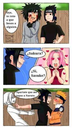 Naruto Sasuke Sakura, Naruto Shippuden Anime, Naruto Art, Anime Naruto, Sasunaru, Narusasu, Naruto Comic, Naruto Funny, Alice Angel