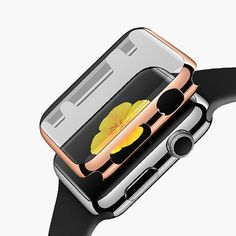 Apple watch case rose gold by Darkoolart