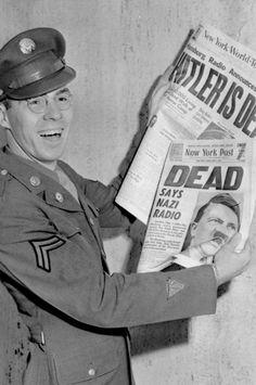 """Hitler is dead."""