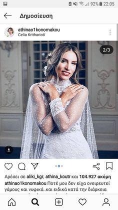 Fans, Celebrities, Wedding Dresses, Women, Fashion, Bride Dresses, Moda, Celebs, Bridal Gowns