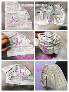 Best 12 New Women Turban Head Wrap Band Chemo Bandana Hiphop Pocket Hat Scarf Muffler – SkillOfKing. Easy Sewing Patterns, Clothing Patterns, Dress Patterns, Turban Headband Tutorial, Turban Headbands, Fashion Sewing, Diy Fashion, Diy Bralette, Sewing Sleeves