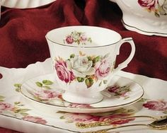 Made in England by Royal Patrician  Bone China Trimmed in Gold