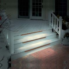 Front steps lighting