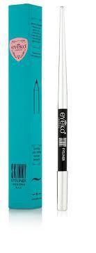 GLOSSYBOX FEBRUARI 2012 EYEKO LONDON SKINNY EYELINER: De Eyeko Skinny eyeliner pencil voor precieze definitie en intensieve kleur. De crèmige formule met was zorgt voor een makkelijke applicatie. De speciale vorm van het potlood met het verlengstuk zorgt voor een pefecte grip, ookal is het potlood bijna op geslepen.