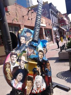 Take a picture with every guitar statue you see #OneOfAKindNashville
