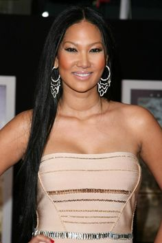Kimora Lee Simmons fabulous, long hairstyle