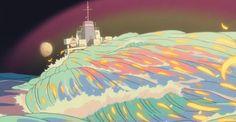 43 Of The Most Impossibly Beautiful Shots In Studio Ghibli History Studio Ghibli Art, Studio Ghibli Movies, Personajes Studio Ghibli, Studio Ghibli Background, Studio Ghibli Characters, Pixel Art, Girls Anime, Princess Mononoke, Hayao Miyazaki