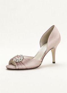 Caparros Peep Toe with Crystal Ornament FFSDIOR3