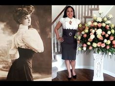 OOTD with Corset: Edwardian Inspired Office Wear | Lucy's Corsetry