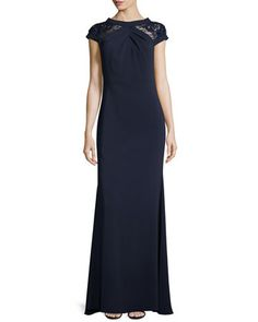 Squared Strapless Silk Cady Gown Purple By Giorgio Armani At Neiman