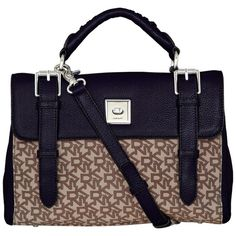 DKNY Crosby Flap Top Handle Satchel Handbag 83810c867c4