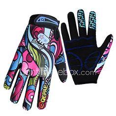 Gloves Sports Gloves Women's Men's Cycling Gloves Spring Autumn/Fall Winter Bike GlovesKeep Warm Anti-skidding Wearproof Ultraviolet 2017 - $10.99