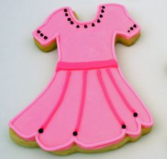 Flour Box Bakery — Pink Party Dress