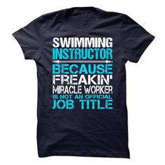 Swimming Instructor #tee #clothing