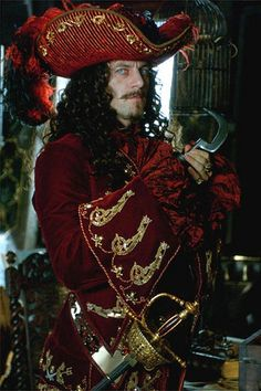 Jason Isaacs as Captain Hook- seriously, this guy plays Wendy's father AND Captain Hook, and you have to admit there's a weird little chemistry going on between them; I could explain the psychoanalysis of it, but you get it. He's just super hot and broody and yeah.
