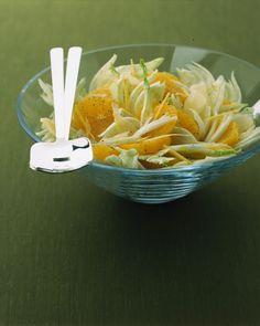Finocchi con arance, grana e zenzero