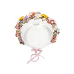 """Flowerband Marina Sunshine  129.00 Flowerband """"MARINA sunshine"""" is a handmade design-piece, made out of Marina Hoermanseder original leather-flowers, vintage artificial flowers and ribbons from switzerland. You can wear the flowerband in your hair or around your waist as a belt. Flower Band, Flower Crown, Marina Hoermanseder, Leather Flowers, Handmade Design, Artificial Flowers, Making Out, Ribbons, Switzerland"""