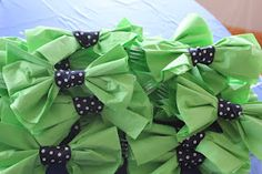 Little man baby shower- bowtie napkins