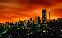 Johannesburg, South Africa; City of Gold